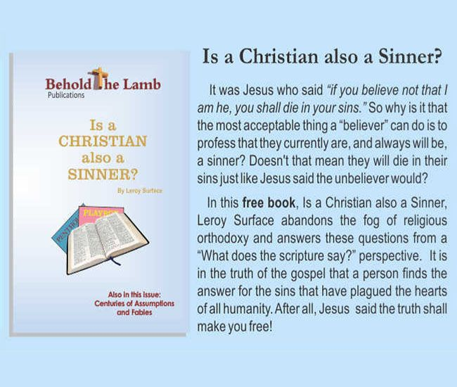 Is a Christian also a Sinner?