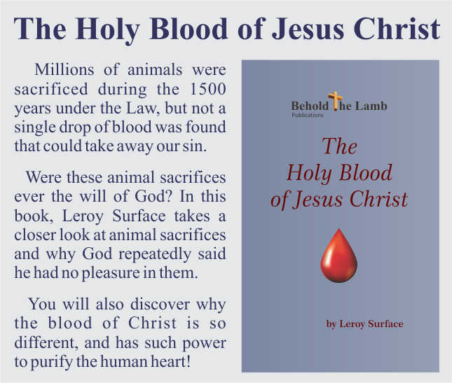 The Holy Blood of Jesus Christ